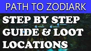 Final Fantasy XII The Zodiac Age - HOW TO FIND ZODIARK & HENNE MINES TREASURE - Tutorial Walkthrough