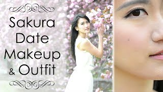 Date Makeup Tutorial & Outfit in Japan