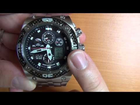 Wrist Watch Review: Part 4 - Citizen Eco-Drive Promaster -  JY0075-54E