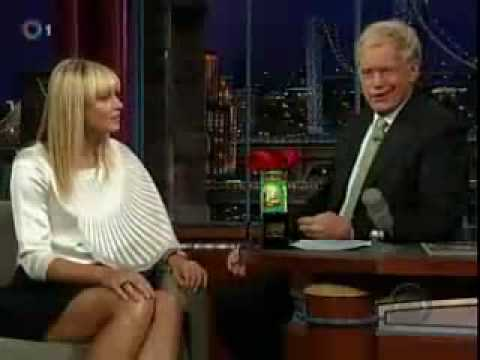 YouTube Maria Sharapova Video David Letterman