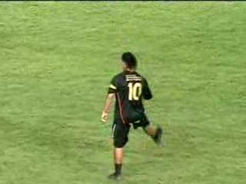 Match: Friends of Ronaldinho 7 x 7 Friends of Messi. Ronaldinho Gaúcho SHOWMAN! The Best World Soccer Player! 29/06/2008.