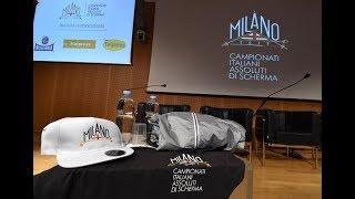 Campionati Italiani MILANO2018 - Conferenza Stampa presentazione logo e sito