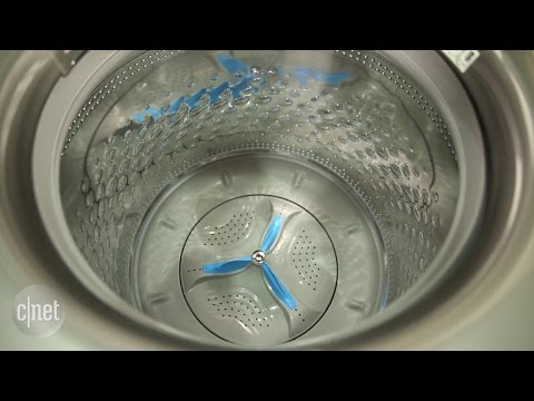 This large Kenmore washer cleans up