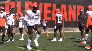Odell Beckham Jr. highlights from Day 4 of Browns training camp