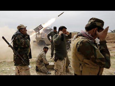 القوات العراقية المدعومة من إيران تتقدم باتجاه كركوك
