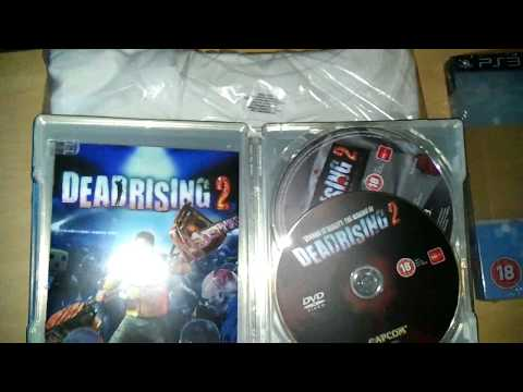 Dead Rising 2 Zombrex Edition Unboxing for PS3