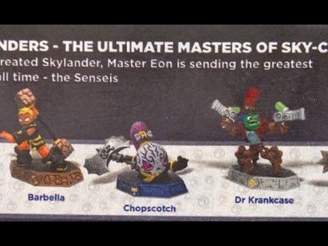 More Senseis revealed for Skylanders: Imaginators (Dr. Krankcase, Tae Kwon Crow...)