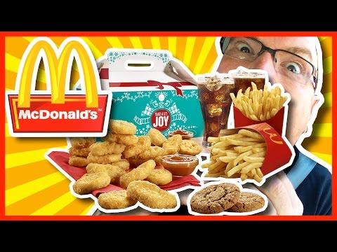 McDonald's Holiday Sharebox Challenge - 2430 CALORIES + 2480mg SODIUM