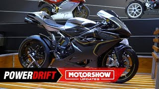 2019 MV Agusta F4 Claudio : The last of its kind : EICMA 2018 : PowerDrift