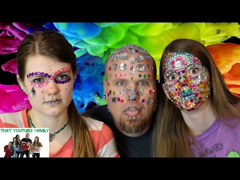 Full Face of Rhinestones / That YouTub3 Family