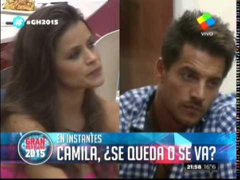 """Camila anunció que se queda y destrozó a Francisco: """"Me parece un cobarde"""""""