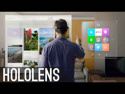 Microsoft Hololens Explained! - The Future Of Computing.