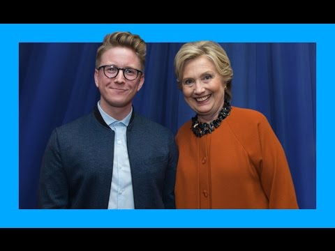 Meeting Future Madam President (ft. Hillary Clinton) | Tyler Oakley thumbnail
