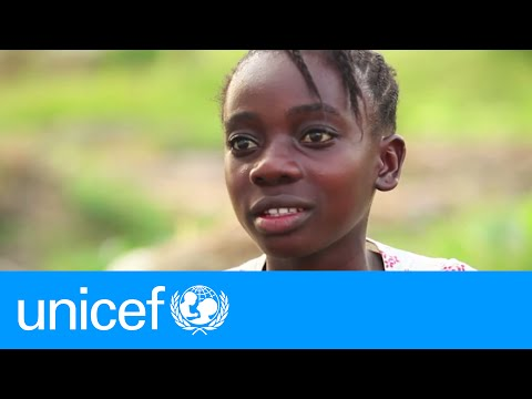 Liberian girl orphaned by Ebola starts a new life | UNICEF