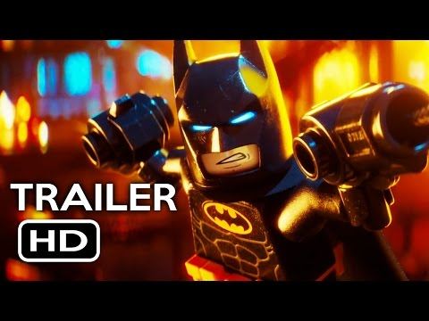 The LEGO Batman Movie Official Trailer #4 (2017) Will Arnett Animated Movie HD