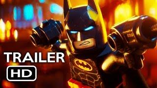 The LEGO Batman Movie Official Trailer #4 (2017) Will Arnett Animated Movie HD