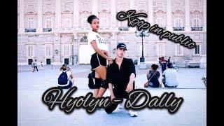 Download Lagu [KPOP IN PUBLIC Madrid] 효린(HYOLYN) - 달리(Dally) (Feat.GRAY) | Dance Cover by Lee Min & Brenda Gratis STAFABAND