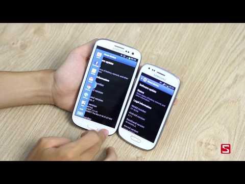 Galaxy S3 mini thua kém Galaxy S3 những điểm gì ? CellphoneS