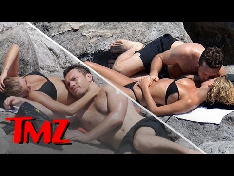 Sam Worthington's Uncomfortable Beach Spot