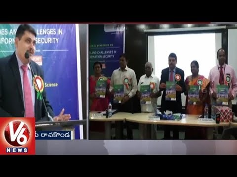 Rachakonda CP Mahesh Bhagwat Attends For Cyber Crime Awareness Program In Hyderabad | V6 News