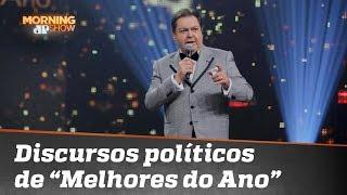 """De Lei Rouanet a Lula: artistas politizam """"Melhores do Ano"""", do Faustão"""