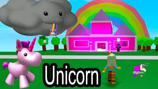 Best Place For A Unicorn ! Roblox Tycoon Game Let's Play Video