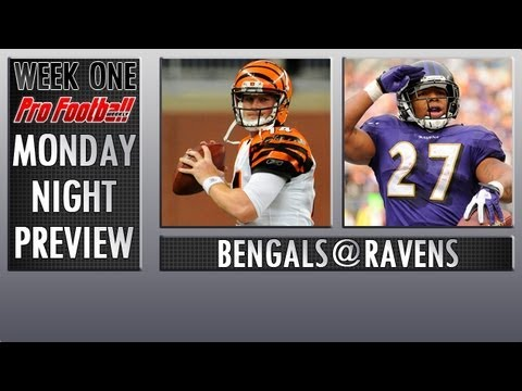 Week One NFL Preview: Cincinnati Bengals @ Baltimore Ravens