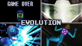 Evolution of Samus's Deaths and Game Over Screens (1986 - 2016)