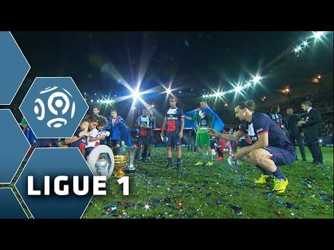 PSG Champion 2014 - Trophy & ceremony - Ligue 1 - 2013/2014