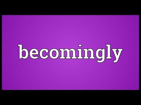 Header of becomingly