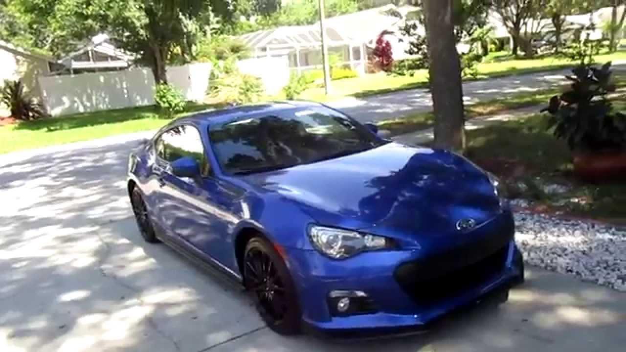 My 2015 Subaru BRZ Series Blue! - YouTube