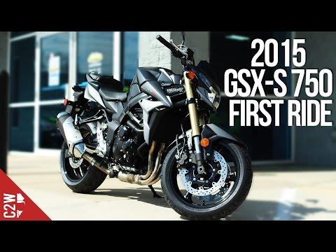 2015 Suzuki GSX-S750 / GSR 750   First Ride