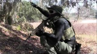 Airsoft War - Operation Hidden Leaf, ft Pneumatic Rifle!