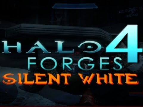 Halo 4 Forges - Silent White