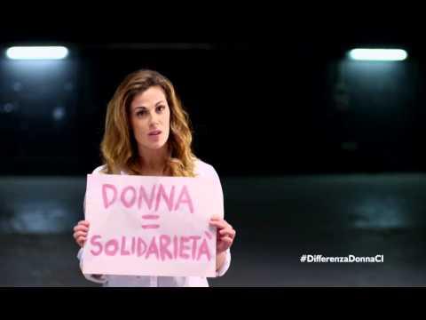Vanessa Incontrada — CI Italia e Differenza Donna uniti contro la violenza sulle donne