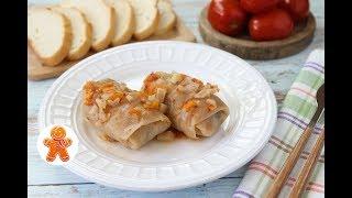 Голубцы с Грибами и Рисом ✧ Вегетарианский Постный Рецепт