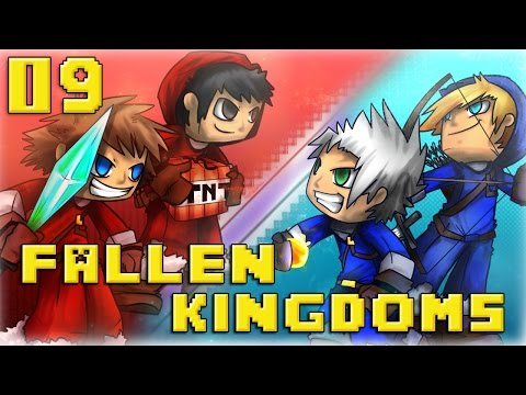 Fallen Kingdoms : Ice VS Fire Jour 9 Minecraft