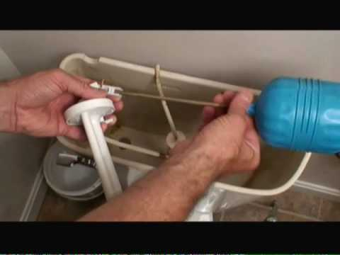How to Replace Toilet Tank Fill Valve Video