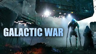 """Galactic War"" Military Space Epic! - Powerful Futuristic Music 2018"
