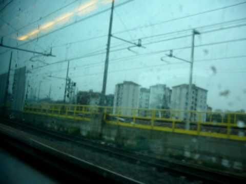 Leaving Milano - Eurostar City Train