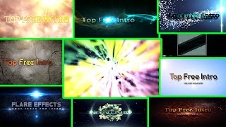 "Top 10 Free Intro Templates ""Sony Vegas Intro"" Pro 14, 13, 12 Download"