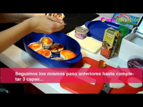 Lasaña de berenjena. Receta de cocina baja en calorías by wikinutrición
