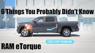 2019 RAM eTorque: 6 Things You Probably Didn't Know