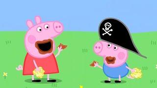Chota Kids TV हिन्दी - Treasure Hunt - Khajane Ki Khoj - हिंदी Kahaniya - Peppa Pig Hindi