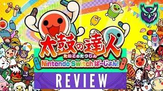 Taiko no Tatsujin Drum 'n Fun Nintendo Switch Review + Drum Controller