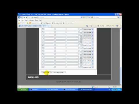 Configurando SECO - SDVR no roteador DLink