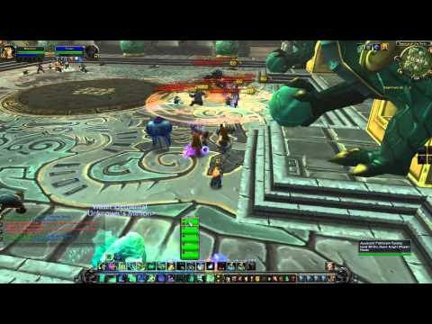 MoP Beta: Mistweaver Monk Gameplay (Healing New Dungeons)