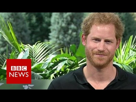 Prince Harry explains how he got the Queen to do Invictus Games video - BBC News