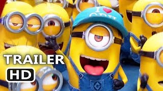 DЕSPІCАBLЕ MЕ 3 Official Trailer # 2 (2017) Minions Animation Movie HD