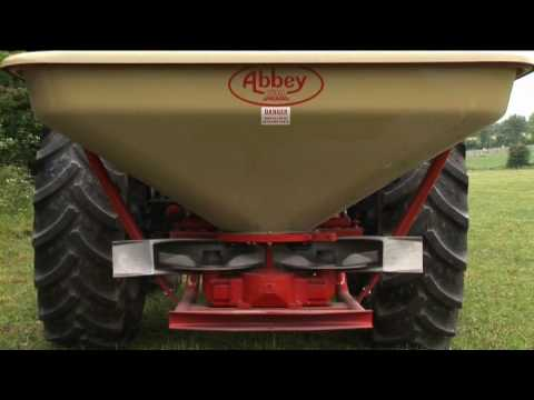 Abbey Machinery 'sFertilizer Spreader